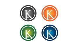 Logo della Camera di K illustrazione di stock