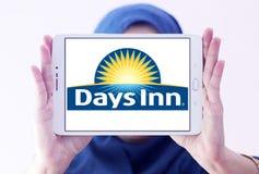 Logo della catena di hotel del Days Inn Fotografia Stock