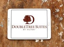 Logo della catena di hotel di DoubleTree Fotografia Stock