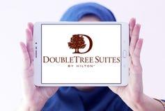 Logo della catena di hotel di DoubleTree Fotografia Stock Libera da Diritti