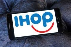 Logo della catena di ristorante di IHOP Fotografie Stock Libere da Diritti