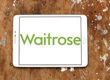 Logo della catena di supermercati di Waitrose Immagine Stock