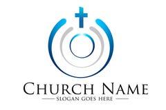 Logo della chiesa Immagine Stock Libera da Diritti
