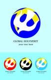Logo della chiesa di Holyspirit Fotografie Stock