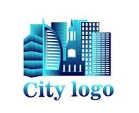 Logo della città Immagini Stock