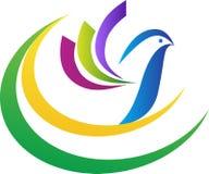Logo della colomba Fotografia Stock Libera da Diritti