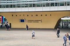Logo della Commissione Europea Immagini Stock Libere da Diritti