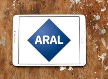 Logo della compagnia petrolifera di Aral Fotografia Stock