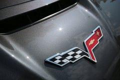 Logo della corvetta Immagine Stock