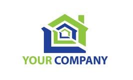 Logo della costruzione Fotografia Stock Libera da Diritti