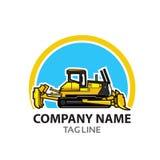 Logo della costruzione Fotografia Stock