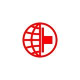 Logo della croce rossa Fotografie Stock