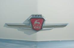 Logo della fabbrica russa dell'automobile di GAZ Fotografia Stock Libera da Diritti