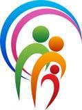 Logo della famiglia Immagini Stock Libere da Diritti
