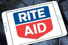 Logo della farmacia dell'aiuto di rito Immagine Stock Libera da Diritti