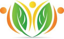 Logo della foglia royalty illustrazione gratis