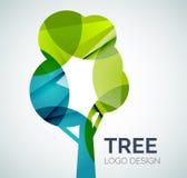 Logo della foglia illustrazione vettoriale
