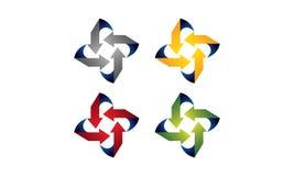Logo della freccia illustrazione di stock