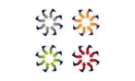 Logo della freccia royalty illustrazione gratis