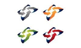Logo della freccia illustrazione vettoriale