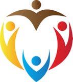 Logo della gente Immagini Stock