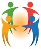 Logo della gente Immagine Stock