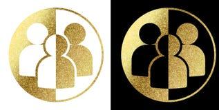 Logo della gente Fotografie Stock Libere da Diritti