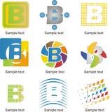 Logo della lettera B Immagini Stock