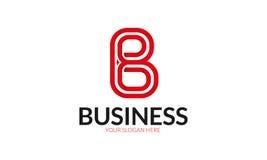 Logo della lettera di B fotografie stock