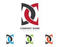 Logo della lettera di D Immagini Stock Libere da Diritti