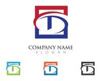 Logo della lettera di D Immagine Stock Libera da Diritti