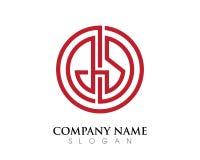Logo della lettera di GS Immagine Stock Libera da Diritti