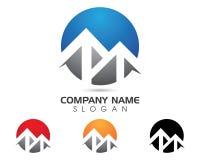 Logo della lettera di m. Immagini Stock Libere da Diritti