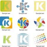 Logo della lettera K Fotografie Stock Libere da Diritti