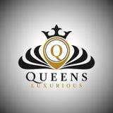 Logo della lettera Q - stile lussuoso classico Logo Template illustrazione vettoriale