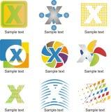Logo della lettera X Immagine Stock Libera da Diritti