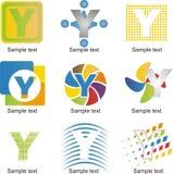 Logo della lettera Y Immagini Stock Libere da Diritti