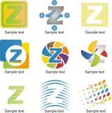 Logo della lettera Z Fotografia Stock