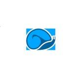Logo della lumaca Fotografia Stock Libera da Diritti