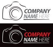 Logo della macchina fotografica Immagini Stock