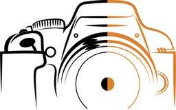 Logo della macchina fotografica Fotografie Stock Libere da Diritti