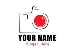 Logo della macchina fotografica Immagine Stock Libera da Diritti