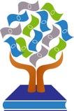 Logo della pianta di soldi Fotografia Stock Libera da Diritti