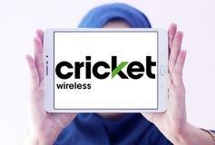 Logo della radio del cricket Fotografia Stock
