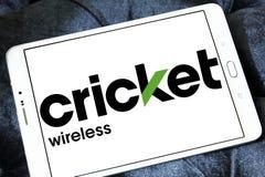 Logo della radio del cricket Immagine Stock