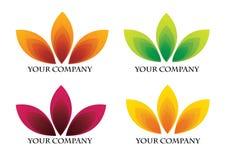 Logo della società Immagini Stock Libere da Diritti