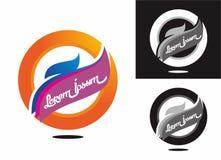 Logo 03 della società Fotografie Stock Libere da Diritti