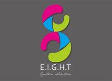 Logo 02 della società Fotografia Stock Libera da Diritti