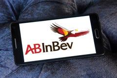 Logo della società della birra di ab InBev immagine stock