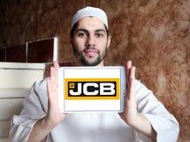 Logo della società del JCB Fotografia Stock